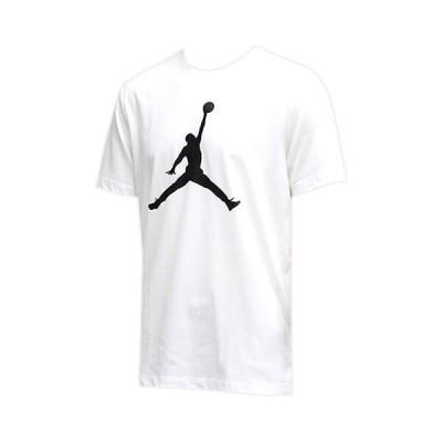 【セール】Jordan Jumpman S/S Crew(ジョーダン ジャンプマン S/S クルー Tシャツ) 白/黒