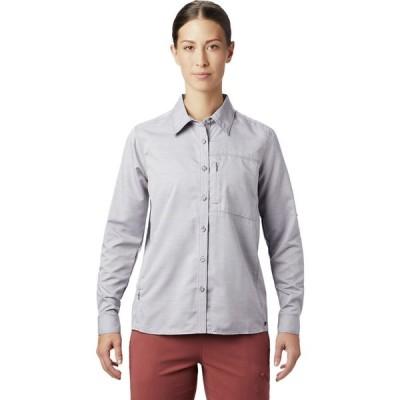 (取寄)マウンテンハードウェア キャニオン ロングスリーブ シャツ - レディース Mountain Hardwear Canyon Long-Sleeve Shirt - Women's Dusted Sky
