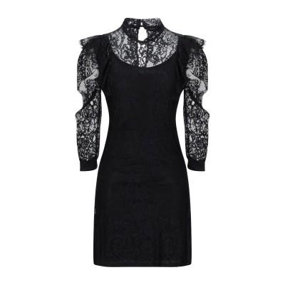 VANESSA SCOTT ミニワンピース&ドレス ブラック S ポリエステル 95% / ポリウレタン 5% ミニワンピース&ドレス
