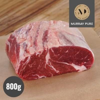 マレー ピュア プレミアム 100% グラスフェッドビーフ 牛肉 リブロース 厚切り ステーキ 800g ブロック 牧草牛 無農薬 ホルモン剤不使用