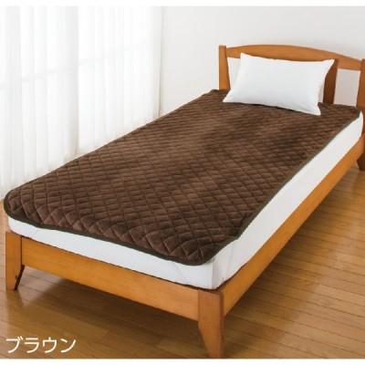 敷きパッド シングル 秋冬用 あったか ふんわり 起毛 100×200cm