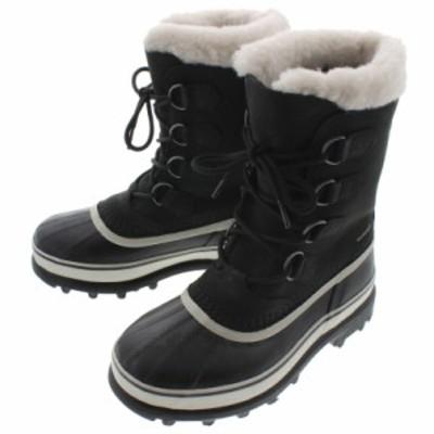 SALE 定番 レディース ソレル SOREL ブーツ CARIBOU カリブー ブラック/ストーン NL1005-011