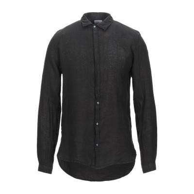 ベルナ BERNA シャツ ブラック S リネン 100% シャツ