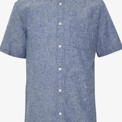 ギャップ メンズ シャツ Shirt - deep cobalt