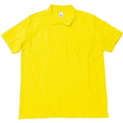 BONMAX ボンマックス  ポケット付き CVC鹿の子ドライポロシャツ MS3114 イエロー