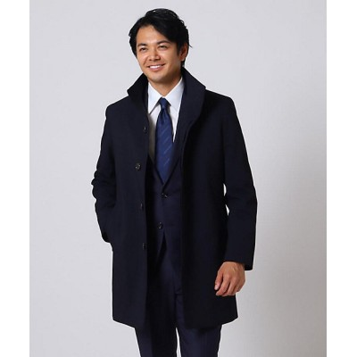 <TAKEO KIKUCHI(Men)/タケオキクチ>【Sサイズ~】ピラミッドツイルコート アオ094【三越伊勢丹/公式】