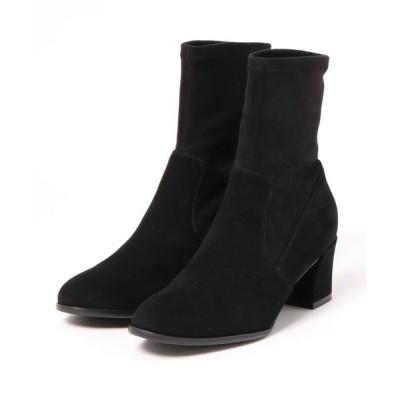 Bridget Birkin / ラウンドトウストレッチショートブーツ(393007) WOMEN シューズ > ブーツ