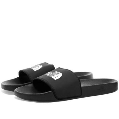 ザ ノースフェイス The North Face メンズ サンダル シューズ・靴 Basecamp Slide II Black/White
