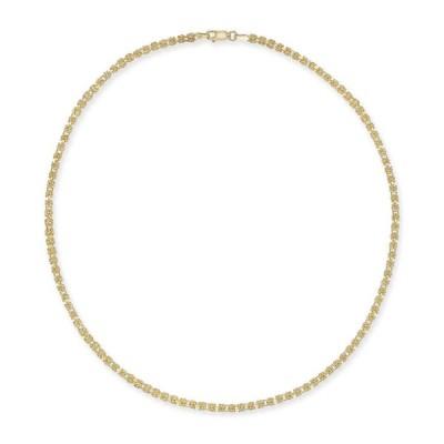 """ジャーニ ベルニーニ Giani Bernini レディース ネックレス ジュエリー・アクセサリー Byzantine Link 18"""" Chain Necklace in 18k Gold-Plated Sterling Silver"""