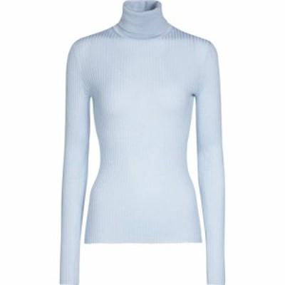 ガブリエラ ハースト Gabriela Hearst レディース ニット・セーター トップス Peppe cashmere and silk sweater Halogen Blue