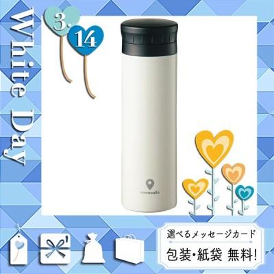 父の日 プレゼント ギフト 花 水筒 マグ 2021 カード 水筒 マグ 半回転 ココカフェ 真空二重マグ(300ml) ホワイト