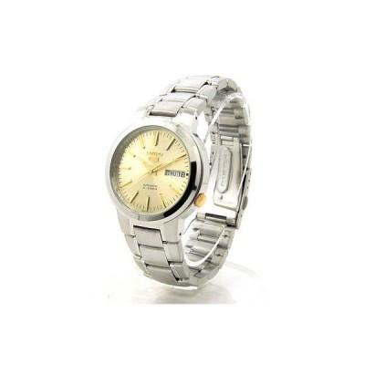 腕時計 セイコー SEIKO 5 Automatic SNKA03 SNKA03K1 Mens See Through 21 Jewels Steel Watch