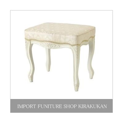 Fiore フィオーレ スツール(白家具)SA-C-1470-WH6