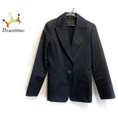 ノーベスパジオ NOVESPAZIO ジャケット サイズ38 M レディース 黒   スペシャル特価 20200618