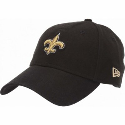 ニューエラ New Era レディース キャップ 帽子 NFL Core Classic 9TWENTY Adjustable Cap - New Orleans Saints Black