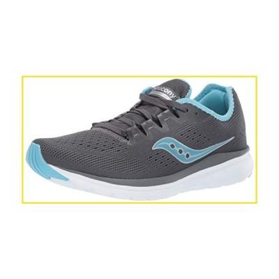 新品Saucony Women's Versafoam Flare Running Shoe, Charcoal/Light Blue, 8 Medium US並行輸入品