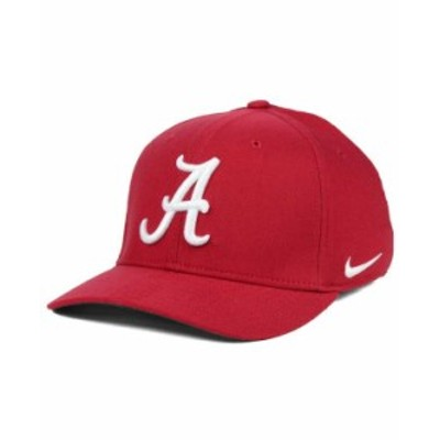 ナイキ メンズ 帽子 アクセサリー Alabama Crimson Tide Classic Swoosh Cap Crimson