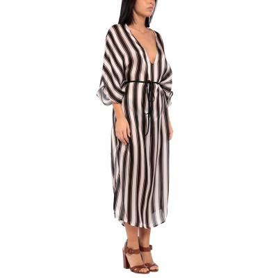FISICO ビーチドレス ホワイト S/M シルク 100% ビーチドレス