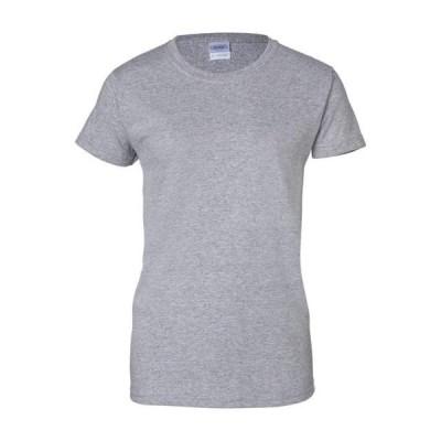 レディース 衣類 トップス Gildan - Ultra Cotton Women's T-Shirt - 2000L Tシャツ