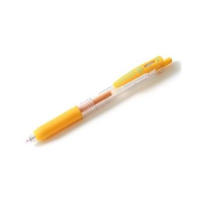 ゼブラ サラサクリップ0.4mm 黄 1本