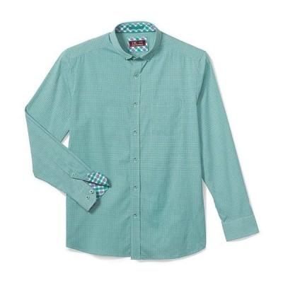 ジョンストンアンドマーフィー レディース シャツ トップス XC4 Diamond Circle Print Wrinkle-Resistant Long-Sleeve Woven Shirt
