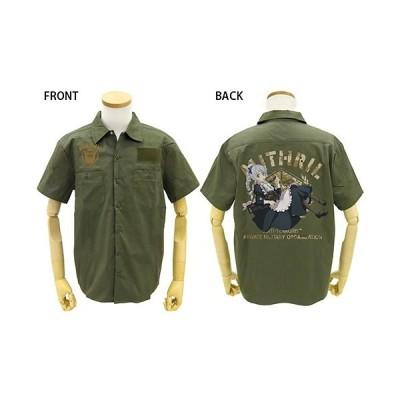 【送料無料対象商品】コスパ フルメタル・パニック!IV メイドテッサ フルカラーワークシャツ MOSS
