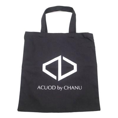 ACUOD by CHANU アクオド バイ チャヌ ロゴトートバッグ ブラック
