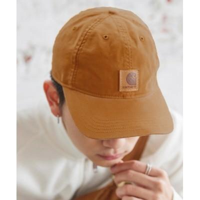 MONO-MART / carhartt/カーハート キャップ ストラップバック ワンポイント 刺繍 ODESSA ウォッシュ加工 MEN 帽子 > キャップ