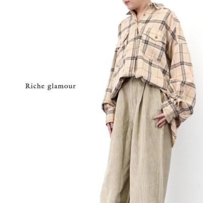 トップス シャツ ブラウス レディース ファッション ●秋冬SALE●ネルチェック ビッグシャツ 定番アイテム 人気