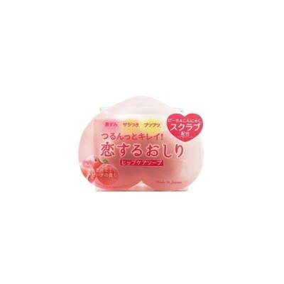 ペリカン石鹸 恋するおしり ヒップケアソープ 80g (ボディ石鹸・ヒップケア)