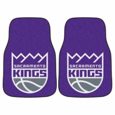 Fan Mats ファン マット スポーツ用品  Sacramento Kings 2-Piece Carpet Car Mat Set