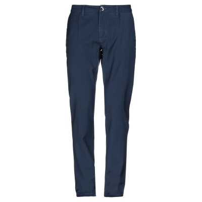 FRADI パンツ ブルー 38 ウール 100% パンツ