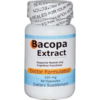 バコパエキス、225 mg、60カプセル