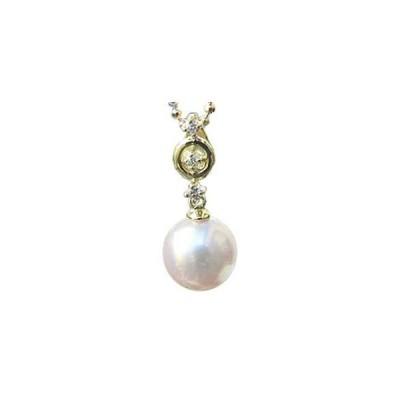 真珠 パール パール 真珠 トップ チャーム 本真珠 ダイヤモンド k18 k18 k18PG イエローゴールド ホワイトゴールド ピンクゴールド 18金 プレゼント ギフト 人気