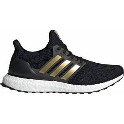 アディダス レディース スニーカー シューズ adidas Women's Ultraboost Running Shoes Black/Gold