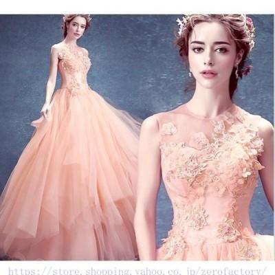 2020新春夏新作レディース花嫁結婚式パーティー用ロングドレス演奏会年会二次会ウエディングドレス
