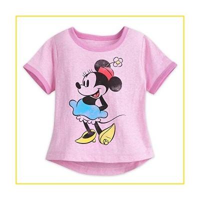 新品Disney Minnie Mouse Classic Ringer T-Shirt for Girls Size S (5/6) Multi並行輸入品