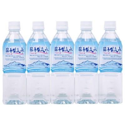 霧島の福寿鉱泉水 500mlペットボトル×30本箱入 天然温泉水(硬水) シリカ水160mg/L