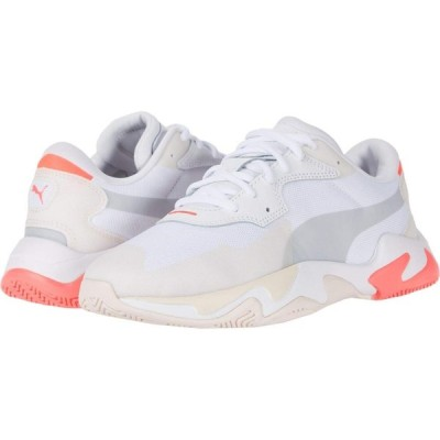 プーマ PUMA レディース スニーカー シューズ・靴 Storm Plas_Tech Rosewater/Puma White