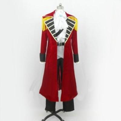 Axis Powers ヘタリア(APH)イギリス アーサー・カークランド 海賊 風 コスチューム  コスプレ衣装  完全オーダメイドも対応可能