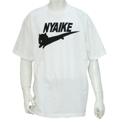 ニャイキ ビッグサイズ 半袖 Tシャツ 2XL 3XL ブランド パロディー  メンズ レディース ユニセックス