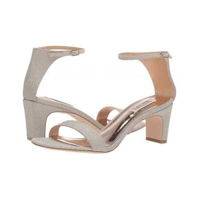 Badgley Mischka バッジリーミシュカ レディース 女性用 シューズ 靴 ヒール Aida - Platino Diamond Textile