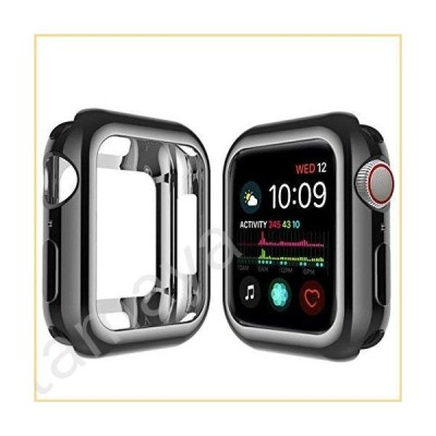 Apple Watchシリーズ4ケース44mmに対応。ソフトTPU保護バンパーカバー。柔軟で傷つきにくいスリム薄型ケー