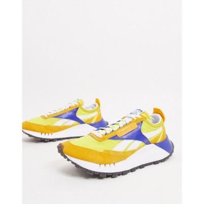 リーボック メンズ スニーカー シューズ Reebok Classic Legacy sneakers in yellow Yellow