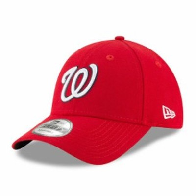 New Era ニュー エラ スポーツ用品  New Era Washington Nationals Mens Red League 9Forty Adjustable Hat