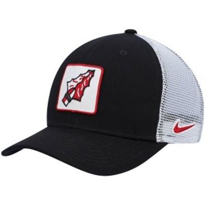 ナイキ メンズ 帽子 アクセサリー Florida State Seminoles Nike Classic 99 Alternate Logo Trucker Adjustable Snapback Hat Black