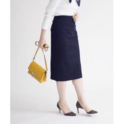 SHIPS for women/シップスウィメン ジャージーツイードスカート《フォーマル対応》 ネイビー 36