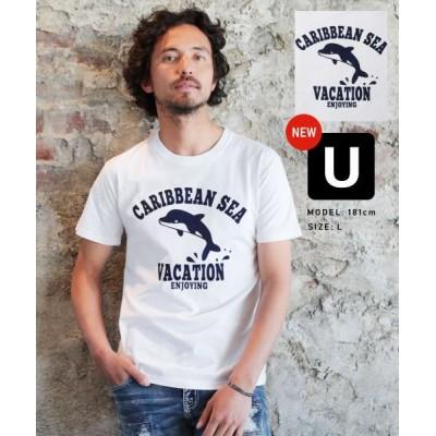 (THE CASUAL/ザカジュアル)(バイヤーズセレクト)Buyer's Select 綿100%プリントTシャツ/メンズ その他系16