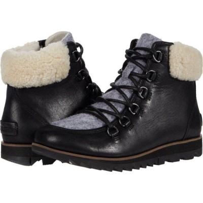 ソレル SOREL レディース ブーツ シューズ・靴 Harlow Lace Cozy Black