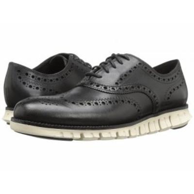 Cole Haan コールハーン メンズ 男性用 シューズ 靴 オックスフォード 紳士靴 通勤靴 Zerogrand Wing Ox Black Closed【送料無料】